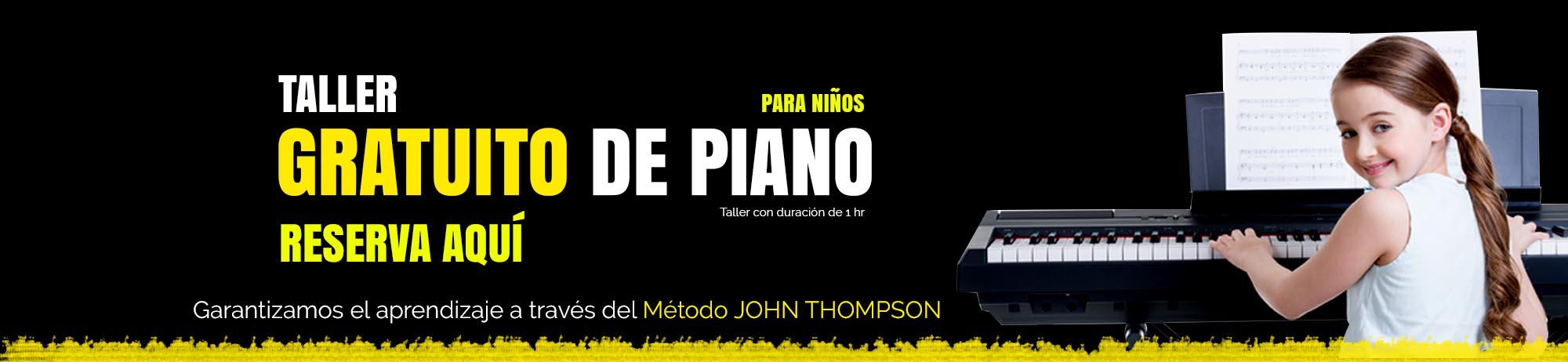 Clases de Piano para niños en  Querétaro